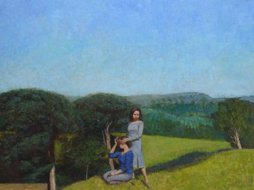 Girls on a Hill